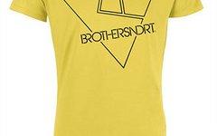 "Brothersindirt T-Shirt ""Outline"" yellow S *NEU*"