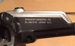 Shimano SLX BR-M675 Scheibenbremsen Set VR&HR