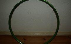Sixpack Resident Disc-Felge 26'' 32Loch grün
