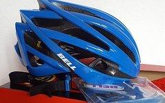 Bell Gage MIPS Rennrad Fahrrad Helm blau 2016 Neu