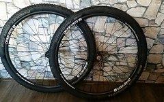 "Extralite/ Bike Ahead Hyper Front+ Rear/ Bike Ahead 29"" Carbon Clincher 32"