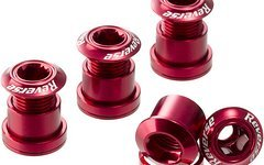 Reverse Components Kettenblattschrauben rot