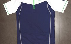 Qloom Radtrikot Biketrikot Jersey - Größe M - Blau