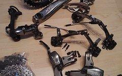 Shimano XTR Komplettgruppe M960 inkl. Bremsen und Laufräder Mavic X517