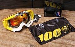 100% Accuri Goggle yellow/white *NEU*
