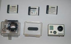 Gopro Hero 2 HD inkl. SD Karte und Reserve-Akkus