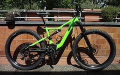 Specialized Turbo Levo FSR Comp 6 Fattie, 2017er Mod., Gr. M