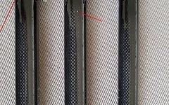 Carbon Sattelstütze 31,6mm / ca. 350mm / Sonderpreis