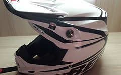Bellmoto 9  Tracker Black Neu Bell mx dh .helm neu moto9 in xl nei tracker black