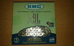 KMC X9L Silver 9-fach Kette vollvernickelte Kette - neu und OVP