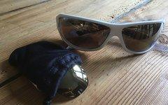 Adidas Agilis Rennrad Brille gebraucht plus Ersatzgläser (fast geschenkt)