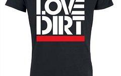 "Brothersindirt T-Shirt ""Love Dirt"" Black M"