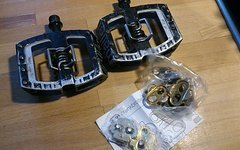 Crankbrothers Mallet DH inkl. 2 Paar Cleats (1x neu)