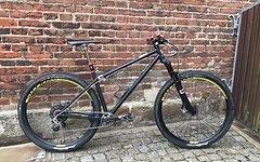 Last fastforward Bike * ENDURO * FREERIDER Downhill STAHL FASTFORWARD 12.5 kg