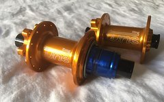 Tune KING KONG 24Loch orange eloxiert Naben Hubs