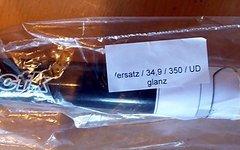 Mcfk Sattelstütze 34,9x350 UD Carbon Versatz glanz ähnlich Schmolke AX Lightness