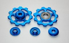 Schaltröllchen Schaltwerkrädchen 11 T Shimano sram Jockey Wheels MTB Blauen