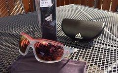 Adidas Evil Eye Evo Pro L Crystal Matt / Red Mirror Sonnenbrille + Gläser !NEU!