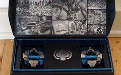 "Shimano XTR Pedale PD-M 990 ""Blue Edition"" 25 jähriges Jubiläum 25th Anniversary"