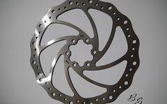 Bs Fahrrad Bremsscheibe 180mm, 6 Loch, *High End Qualität*