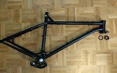 """NS Bikes Eccentric Cromo L 27.5"""" + Steuersatz Across + Truvativ XO Kettenführung"""