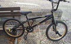 """Dynamic BMX Urban Freestyle - schwarz/gold - 20"""""""