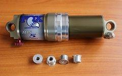Fox Alps 5R Air Shox Dämpfer (165 x 38mm), BJ 1996 = 21 Jahre (NEU & UNVERBAUT aus Sammlung mit frischem Service) [LETZTER PREIS]