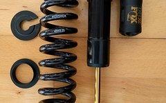 Fox  Racing Shox DHX2 (inkl. Feder 400x3.25 & Montagematerial) Einbaulänge 240 x 76 mm