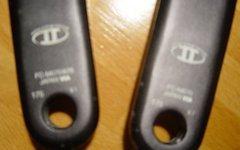 Shimano Kurbel SLX, 3fach, 42-32-24, FC-M670, 175mm,