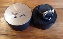 Samsung Gear S3 classic Smartwatch, GPS, neuwertig, PREISUPDATE!