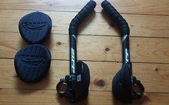 Zipp Vuka Alumina Clip Lenkeraufsatz Inkl. Carbon Extensions Zipp Triathlon Clip on