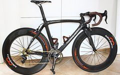 M-Bike Parts, Feathery Carbon Feathery Carbon Rennrad Rahmen mit Gabel, Vorbau, Steuersatz, Sattelstütze.