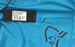 Norrona fjora equaliser long sleeve shirt Caribbean Blue Men S Neu mit Etikett