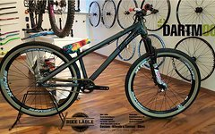 Dartmoor Two6 Player petrol Custom Dirt/Street Bike Rock Shox Pike DJ,HOPE,Spank,Shimano,Chromag,DMR