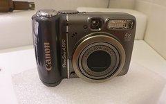 Canon PowerShot A590 IS Digitalkamera (8 Megapixel, 4-fach opt. Zoom, 6,4 cm (2,5 Zoll) Display, Bildstabilisator)