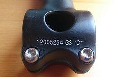 """Vorbau 1.5"""" / 25,4 / 120mm / 5° / schwarz"""