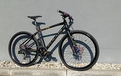 Focus Planet Urban Race Renner Gr. M / 48cm Hope X2 Sram X0 Carbon