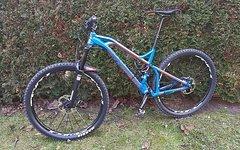 Mondraker Crafty XR 29er Enduro/Trail Custom Bike Blue/Orange TOP!