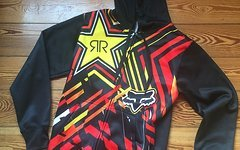 Fox Clothing Rockstar Gr. M Pullover Zip Fleece