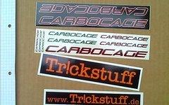 Diverse Kataloge, Sticker, Poster, Lanyards