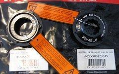 DT Swiss Centerlock Adapter 2 Paar für 15/12mm Steckachse HWZXXX00S2334S - HWZXXX00S2335S