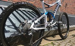 Cannondale Trigger Carbon Fully Allmountain wie NEU 300KM Size M