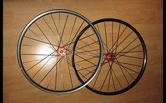 """Laufradsatz 28""""   /  29""""     Cyclocross  Vorderrad OK / Hinterrad defekt"""