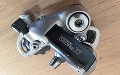 Konvolut Fahrradteile, XT Schaltwerke, SR Pedale, Ritchey Speedmax Reifen