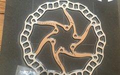 Dartmoor Bremsscheibe mit Schrauben 160 mm gold