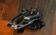 Shimano XT Umwerfer E-Type 2-fach (+Halteblech)