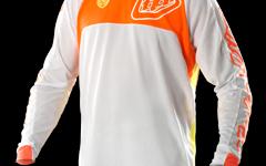 Troy Lee Designs SE Pro Jersey Trikot Corse White/Orange