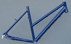 """Modulbike Trekkingrad Damen Rahmen  28"""" RH 53cm in blau NR343"""