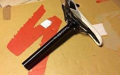 Thomson Elite 31,6mm x 245mm Sattelstütze  + Selle Italia Sattel