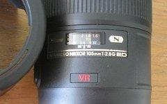 Nikon AF-S Micro 105mm, f/2.8 G VR IF-ED